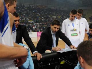 Vlada Vukoičić Serbian basketball coach