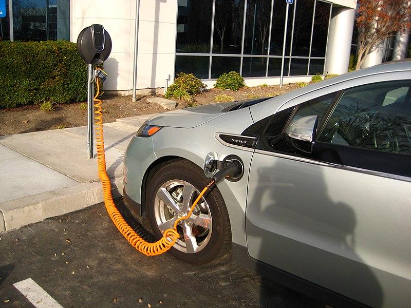 File:Volt charging station.jpg Description English: Chevrolet Volt plug-in hybrid charging in Fremont, California