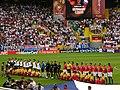 Vor dem Gruppenspiel Deutschland - Tschechien.jpg