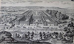 Vue maison royale XVIII