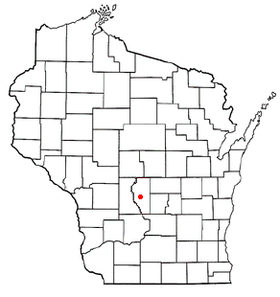 Location of Adams, Wisconsin