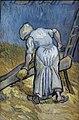 WLANL - jankie - De boerin die vlas kneust (naar Millet), Vincent van Gogh (1889).jpg