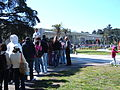 Waiting to get into CAS 2009-04-14 4.JPG