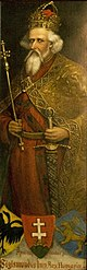Wall painting of Sigismund, King of Hungary.jpg
