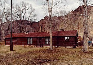 Shoshone National Forest - Wapiti Ranger Station