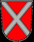 Das Wappen von Oettingen i.Bay.