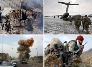 War on Terror International military campaign that started after 11 September 2001