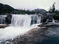 Waterfall in the White Pass, British Columbia (10752609465).jpg