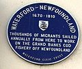 Waterford-Newfoundland plaque.jpeg