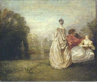 painting by Antoine Watteau