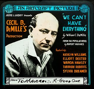 <i>We Cant Have Everything</i> 1918 film