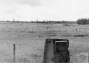 Battle of the Clearwater - Weippe Prairie where the Nez Perce met Lewis and Clark in 1805 and where Chief Joseph camped in 1877 before crossing the Lolo Pass.