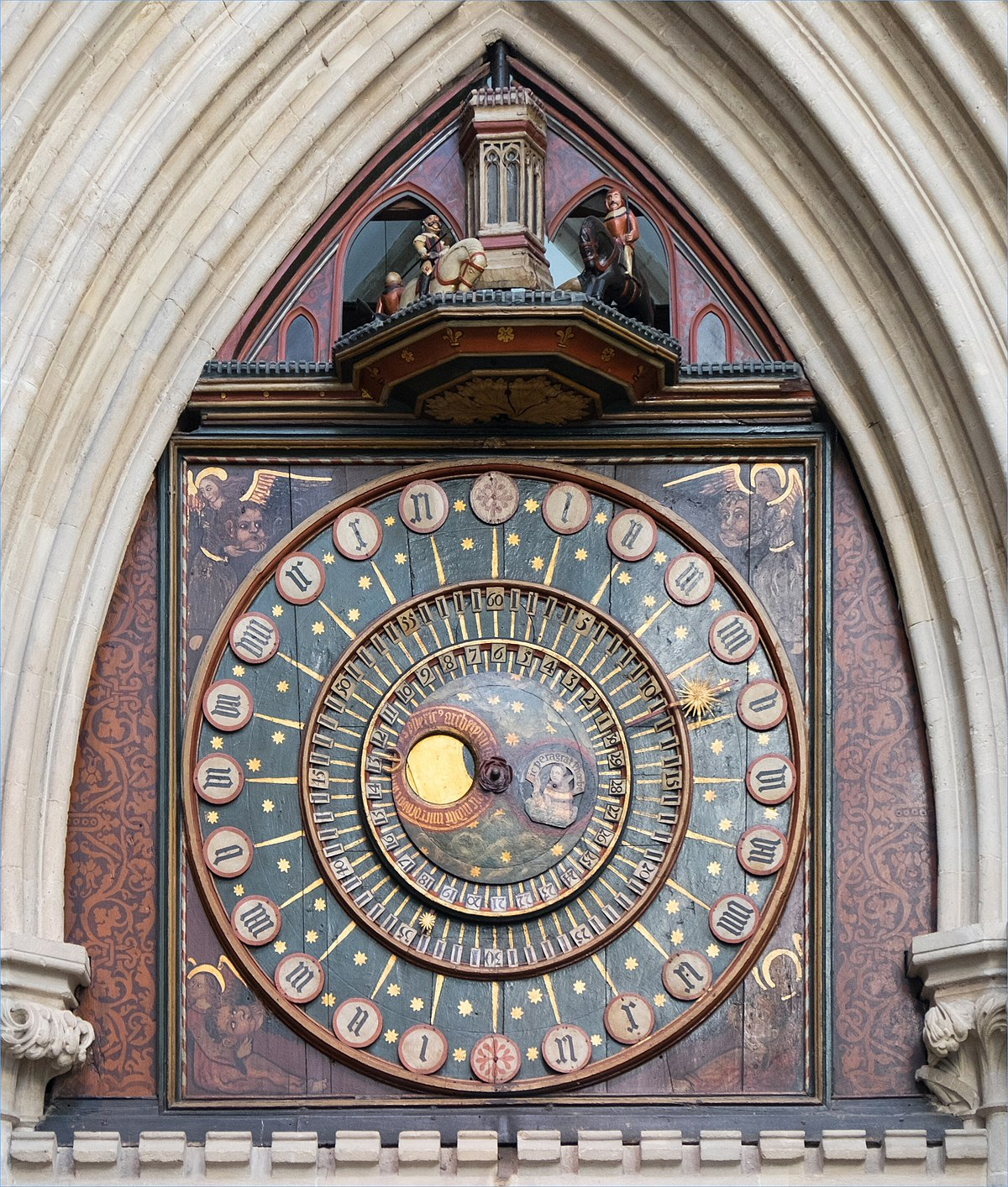 Wells Cathedral Clock Wikipedia