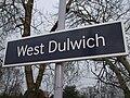 West Dulwich stn signage.JPG