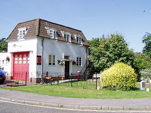 West End, Hampshire - Image: West End Fire Station