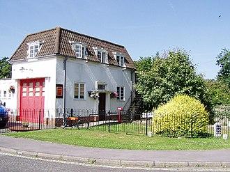 West End, Hampshire - Image: West End Fire Station
