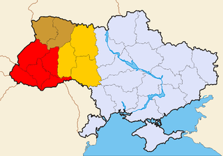 geographical and historical region in the western territories of Ukraine