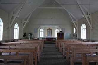 Norwegian Lutheran Church (Grytviken) - Church Interior in 2011