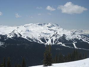 English: Whistler Mountain in British Columbia...