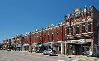 Whitewater Avenue Commercial Historic District