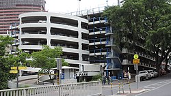 Wickham Terrace Car Park Map