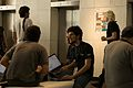 Wikimania 2009 - Chatting (1).jpg