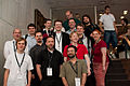 Wikimania 2009 - German Wikipedia members (2).jpg