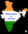 Wikimedians in Calcutta.png