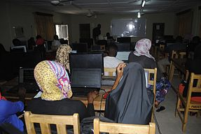 Wikipedia 31 at Fountain University Osun state Nigeria.jpg