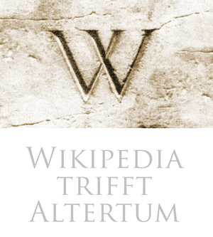 Wikipedia trifft Altertum logo.png