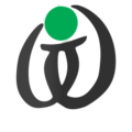 Wikt calligraphy logo bw green.png