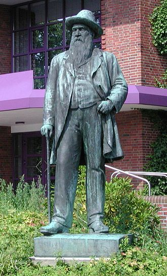 Nordenham - Nordenham's founder Wilhelm Müller
