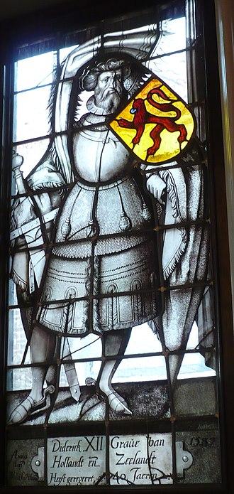 Willem Thibaut - Image: Willem Thibaut Count Diederick of Holland and Zeeland 1587 Lakenhal