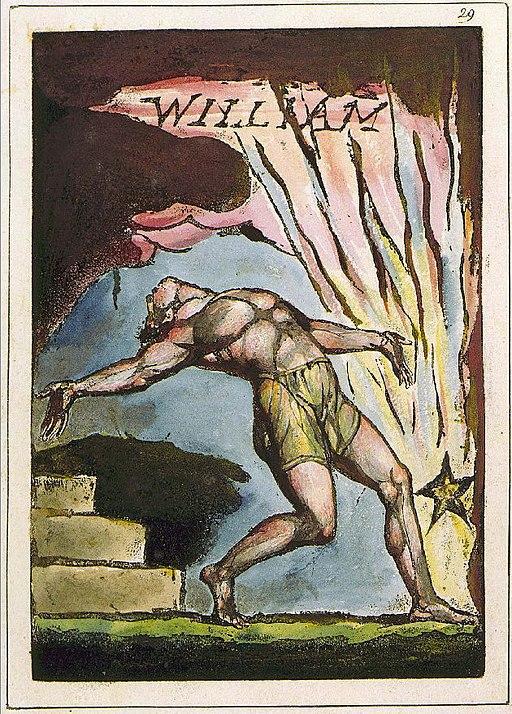 William Blake Milton poem Plate 29 copy C NY public Library