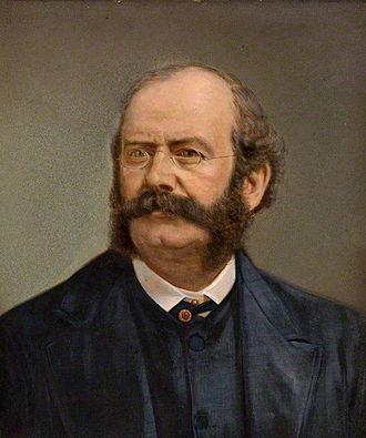 William Burges - Image: William Burges portrait