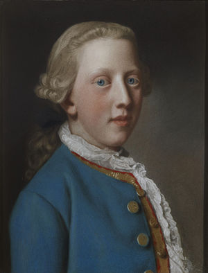 Prince William Henry, Duke of Gloucester and Edinburgh - William Henry, aged 11, by Liotard