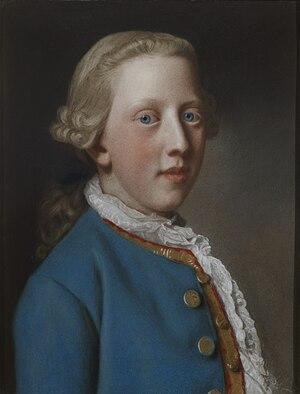 Prince William Henry, Duke of Gloucester and Edinburgh - William Henry, aged 11, by Liotard