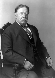 William Howard Taft 27th President of the United States