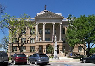 Charles Henry Page - Image: Williamson county courthouse 2008