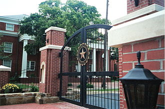 Howard Payne University - Wilson Gate, 2001