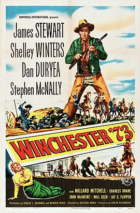 Description de l'image Winchester 73 (1950 film poster).jpg.