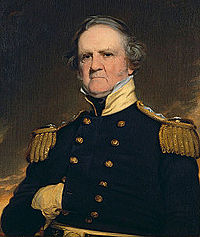 Painting of Winfield Scott.