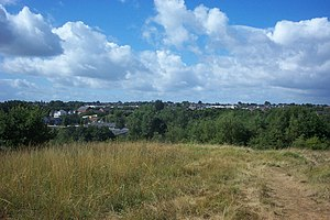 Winsford - Winsford, as seen from Weaver Valley Park, Wharton