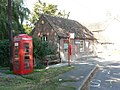 Winterborne Whitechurch, telephone box - geograph.org.uk - 975009.jpg