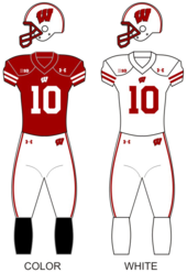 Wisconsin badgers football unif.png
