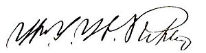 William Y. W. Ripley - General Ripley's Signature