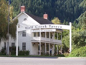 The tavern at Wolf Creek