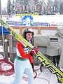 World Junior Ski Championship 2010 Hinterzarten Silje Sprakehaug 097.JPG