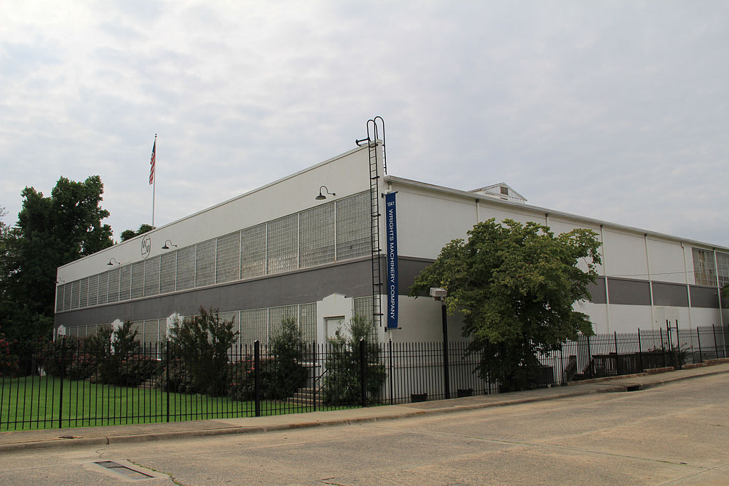 File wright 39 s machinery company historic building durham for Historical buildings in north carolina