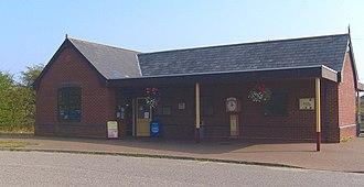 Bure Valley Railway - Image: Wroxham BVR Station Building